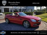 New Price! CARFAX One-Owner. Mars Red **MERCEDES BENZ