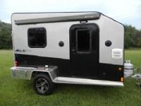 Its higher roof line allows for a larger rear door,