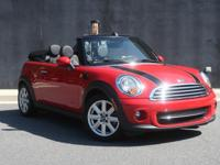 MANUAL TRANS**2015 MINI COOPER CONVERTIBLE!!**VERY LOW