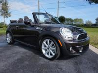 This 2015 MINI Convertible is featured in Iced