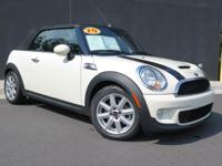 **2015 MINI COOPER CONVERTIBLE**S MODEL**VERY VERY LOW