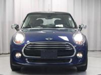 REDUCED FROM $16,998! MINI Certified, CARFAX 1-Owner,