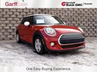 2015 RED MINI COOPER 2D HATCHBACK! CLEAN CAR FAX! Front