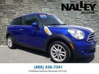 Blue 2015 MINI Cooper Paceman FWD 6-Speed Manual 1.6L
