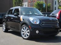 MINI Certified, ONLY 30,941 Miles! EPA 34 MPG Hwy/27