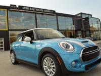 2015 MINI Cooper S 2 Door finished in Electric Blue