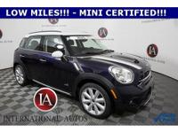 Mini certified, awd / 4x4 / 4wd, 4 new tires!, Comfort