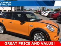 CARFAX One-Owner. Clean CARFAX. New Price! 2015 MINI
