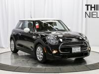CARFAX One-Owner. Certified. Midnight Black 2015 MINI