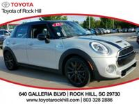 We are excited to offer this 2015 MINI Cooper Hardtop 4