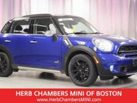 CARFAX 1-Owner, MINI Certified, GREAT MILES 29,151! S