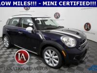 MINI CERTIFIED, AWD / 4X4 / 4WD, 4 NEW TIRES!!!!!!,