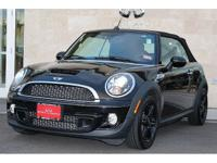 MINI Cooper S S - CONVERTIBLE 2015 Black New Price!