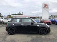CARFAX One-Owner. Clean CARFAX. Black 2015 MINI Cooper