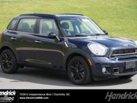 S trim. MINI Certified, CARFAX 1-Owner, ONLY 21,018