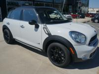 2015 Cooper S All4 Countryman finished in Light White