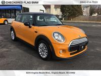 2015 MINI Cooper Certified. Located at Checkered Flag