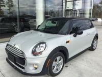 2015 MINI Cooper in White Silver Metallic, ABS brakes,