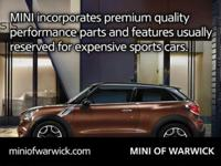 AWD. Turbo! Success begins with MINI of Warwick!