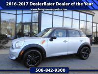 2015 MINI Cooper Countryman Wagon... Crystal Silver