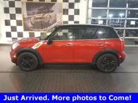 2015 Mini Cooper Countryman FWD 6-Speed Automatic