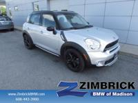 Options:  2015 Mini Cooper Countryman All4 4Dr S|4