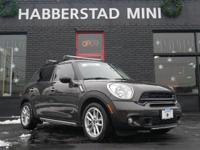 Absolutely stunning, this 2015 MINI Cooper Countryman S