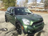 2015 MINI Cooper S Countryman ALL4 in Jungle Green