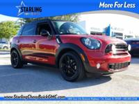 New Price! This 2015 MINI Cooper S Countryman in Red