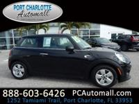 CARFAX One-Owner. Clean CARFAX. Black 2015 MINI Special