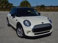 This sporty, one owner MINI Cooper Hardtop comes nicely