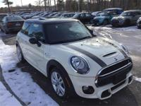 Low mileage, sharp-looking and MINI Certified! 2015