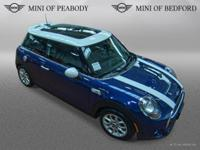 FUEL EFFICIENT 34 MPG Hwy/24 MPG City! MINI Certified,