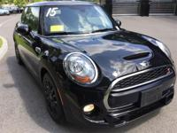2015 MINI Cooper S Hardtop 2 door in Midnight Black