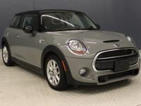 Scores 34 Highway MPG and 24 City MPG! This MINI Cooper