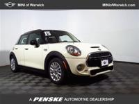 In a class by itself! At MINI of Warwick, YOU'RE #1!