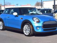 This 2015 MINI Cooper comes with Black Leather