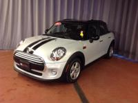 CARFAX 1-Owner, MINI Certified, ONLY 17,526 Miles! FUEL