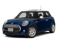 MINI Certified, CARFAX 1-Owner, GREAT MILES 17,092! EPA