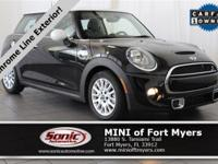 This 2015 MINI Cooper Hardtop S comes well-equipped