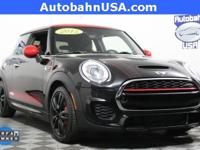 2015 MINI John Cooper Works. STILL UNDER MANUFACTURER'S
