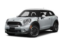 Climb inside the 2015 MINI Paceman! A great vehicle and