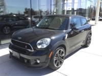 Rare 2015 MINI Cooper S Paceman ALL4 in Absolute Black