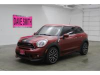 This MINI Paceman will stick to the ground on the