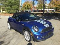 Super-cool and MINI Certified, 2015 Cooper S Roadster