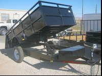 NEW '15 model Mirage 5x10 Dump Trailer has all LED