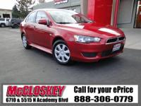 ONE OWNER!! This 2015 Mitsubishi Lancer - Bluetooth,