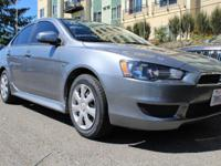 Mitsubishi Lancer Silver Locally Owned and Operated