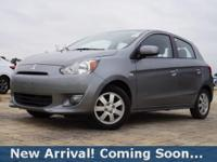 2015 Mitsubishi Mirage DE in Mercury Gray, This Mirage