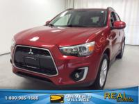 Rally Red Metallic 2015 Mitsubishi Outlander Sport GT